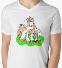 Gypsy Cob Mother's Love Men's V-Neck T-Shirt