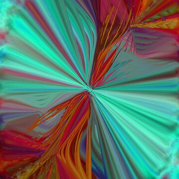 Electric Coral Burst by ursula4509