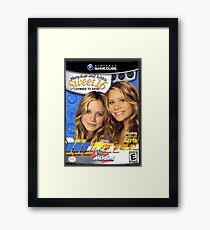 Mary Kate and Ashley Sweet 16 Licensed to Drive Framed Print
