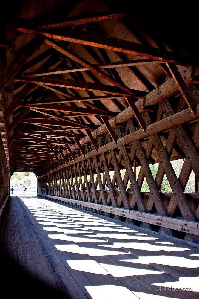 Cross Hatch Trusses by phil decocco