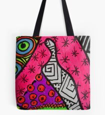Abstract Fluoro 12  Tote Bag