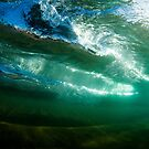 Under the wave by Kana Photography