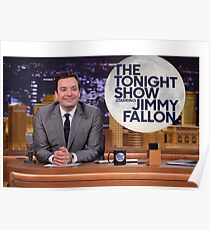 Tonight Show Jimmy Fallon Poster