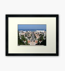 Mediterranean View Framed Print