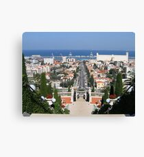 Mediterranean View Canvas Print
