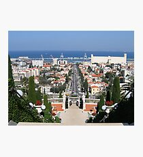 Mediterranean View Photographic Print