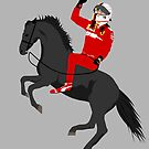 Sebastian Vettel - Prancing Seb by TheWorksTeam