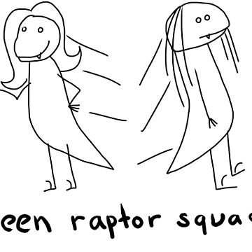 Teen Raptor Squad by sugarpoultry