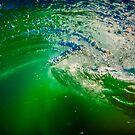 Green Swirl by Kana Photography