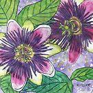 Passionflowers II by Alexandra Felgate
