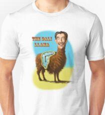 Camiseta ajustada Todos saludan a la misteriosa Llama Dalí