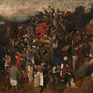The Wine Of Saint Martins Day - Pieter Bruegel the Elder by themasters
