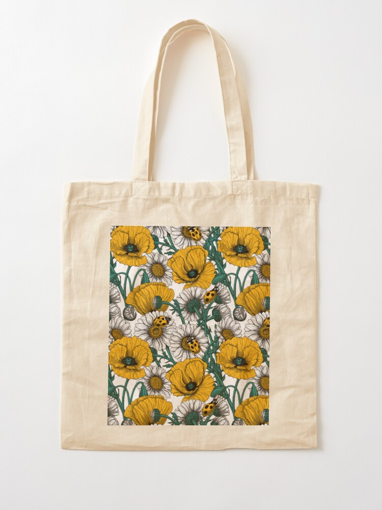 Alternate view of The meadow in yellow Tote Bag