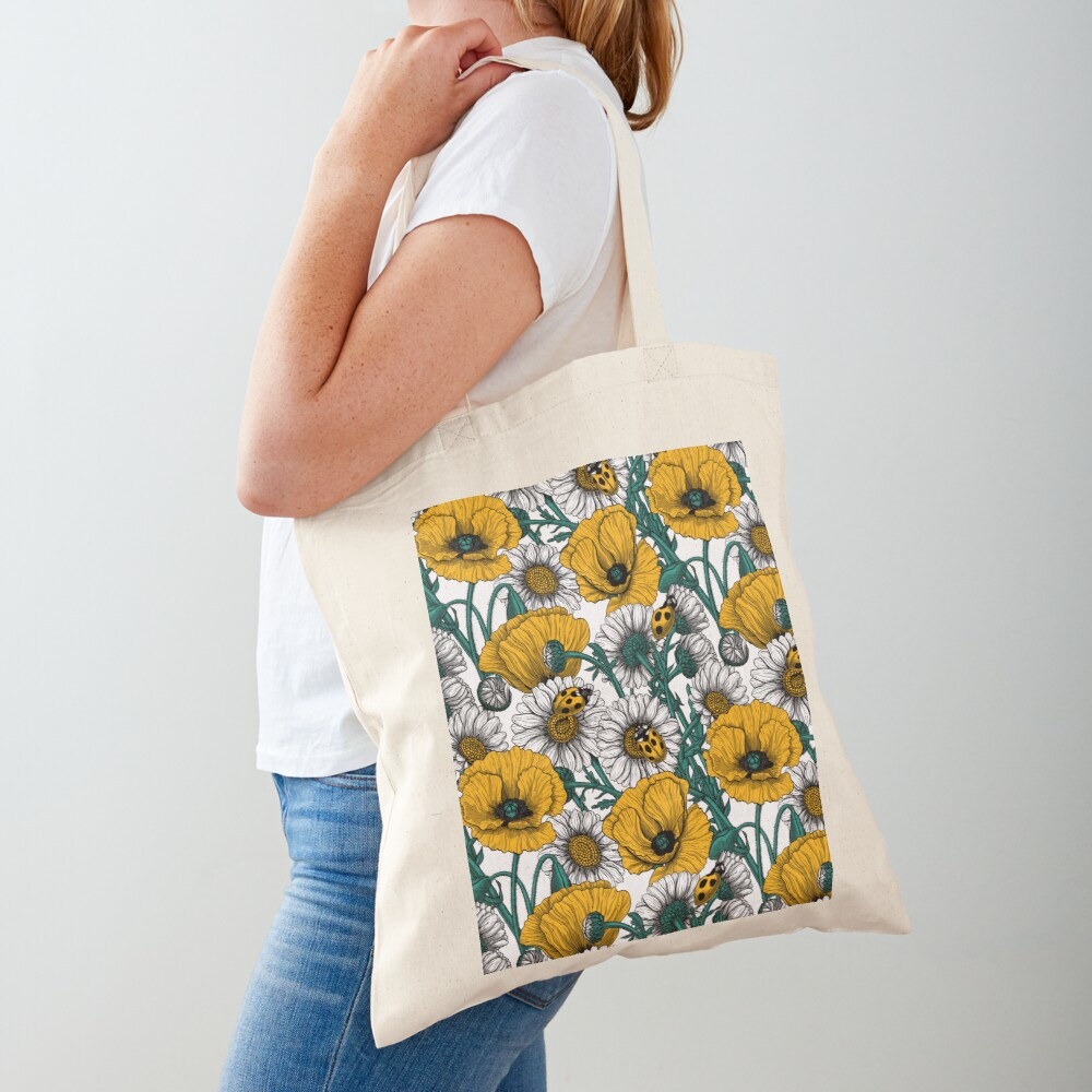 The meadow in yellow Tote Bag