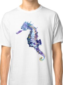 Watercolor Seahorse Classic T-Shirt