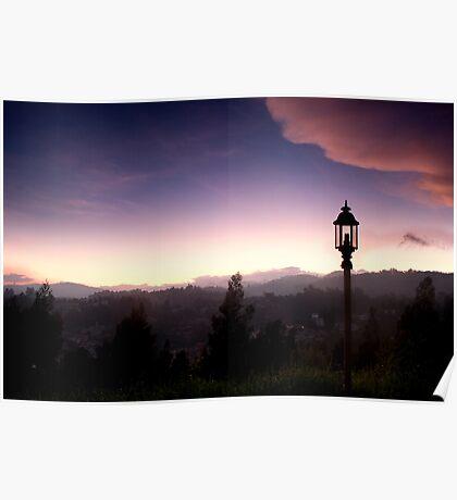 Light over Coonoor Poster