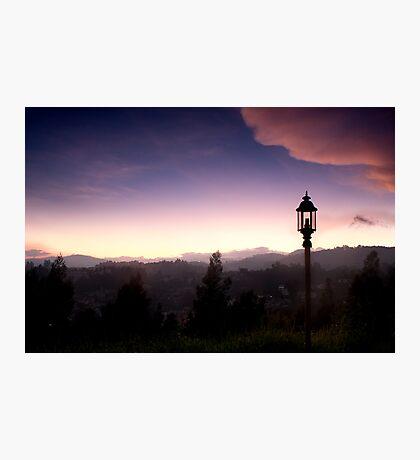 Light over Coonoor Photographic Print