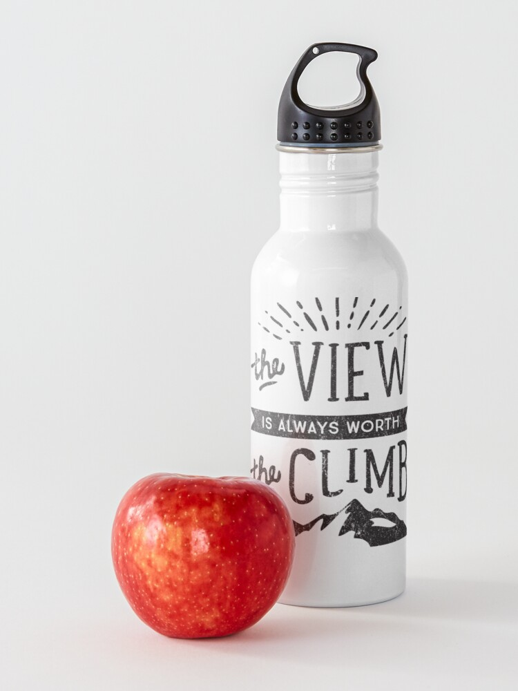 Alternate view of WORTH THE CLIMB Water Bottle