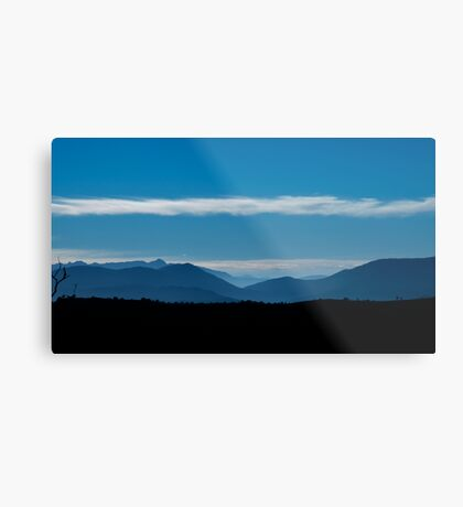 the blue mountains Metal Print