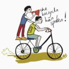 The Bicycle has Spoken! by bikepath