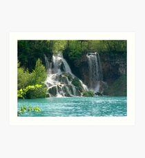 National Park Plitvice Lakes by Dr.sc. Srecko Bozicevic Art Print