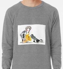 Saxophonist Musician Music Expressive Drawing Lightweight Sweatshirt