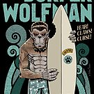 The Surfer Wolfman by NanoBarbero