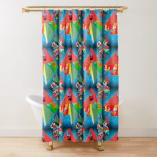 Because I'm Pissed and I Hate You Shower Curtain