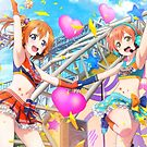 Honoka & Rin - Rin Variant by Munificent