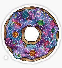 Homer Simpson - Donut Shaped Universe Sticker