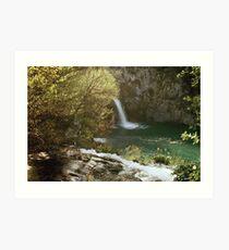 National Park Plitvice Lakes Croatia Art Print
