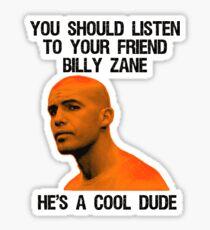 Put a Cork in it Zane Sticker
