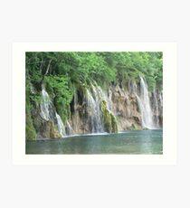 National Park Plitvice Lakes by Srecko Bozicevic Art Print