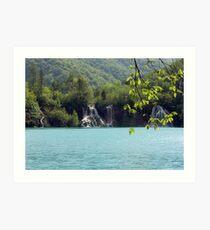 National Park - Plitvice Lakes Croatia Art Print