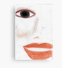 Face © Vicki Ferrari  Canvas Print