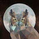 Die Eule und der Mond von kennasato