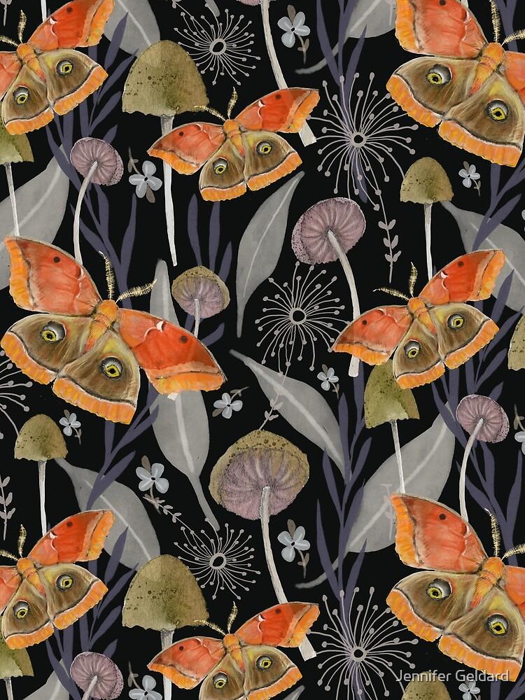 Midnight Moth by JenniferGeldard