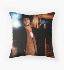 ...and the Gunslinger followed Throw Pillow
