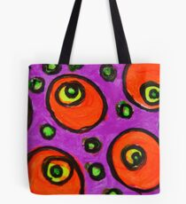 Abstract Fluoro 8  Tote Bag