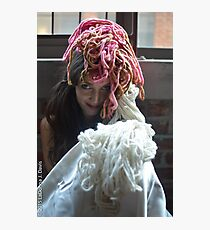 Yarn Photographic Print