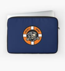 Sailor's Grave - Life Ring Reaper  Laptop Sleeve