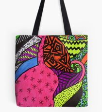 Abstract Fluoro 3  Tote Bag
