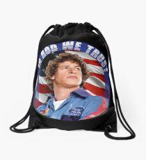 IN ROD WE TRUST Drawstring Bag