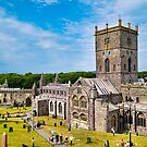 St Davids Cathedral - Historic Buildings - Pembrokeshire, Wales by Harmony-Mind
