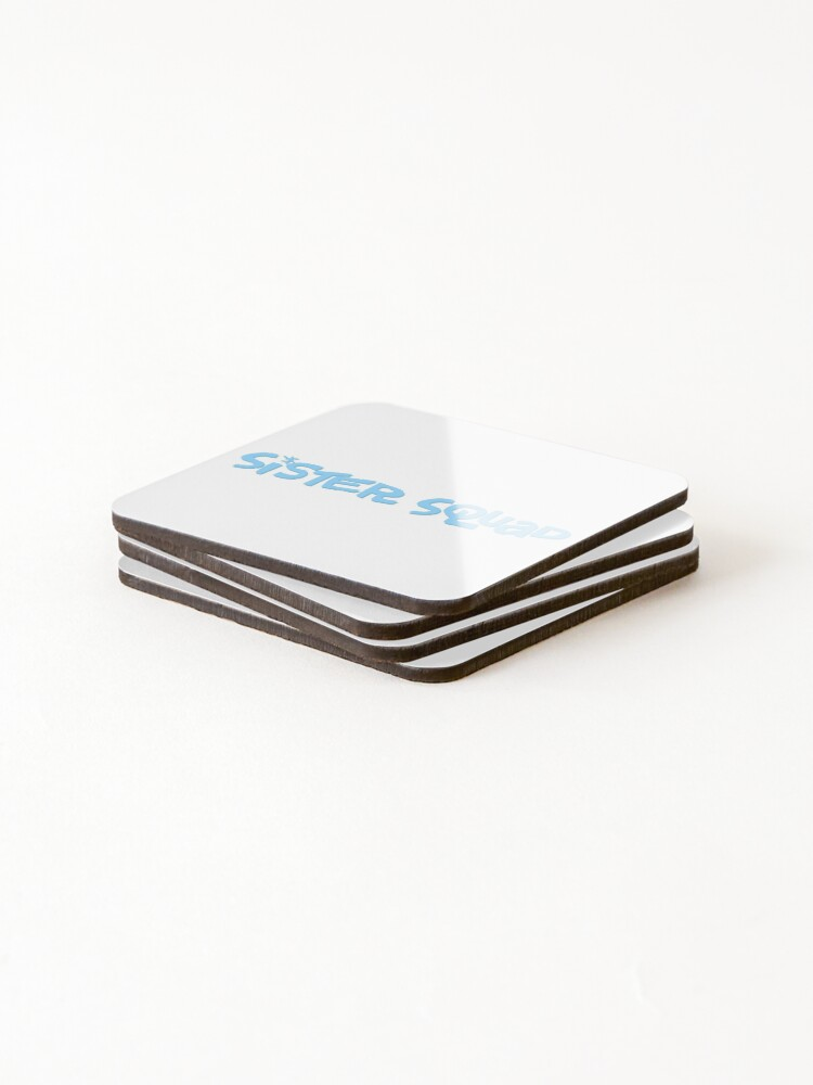 Alternate view of Sister Squad Coasters (Set of 4)