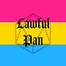 Lawful Pan by QueerStitches