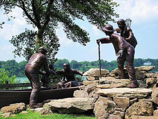 Freedom Crossing Monument ~ Lewiston, NY by artwhiz47