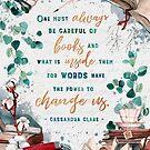 Be careful of books by Stella Bookish Art