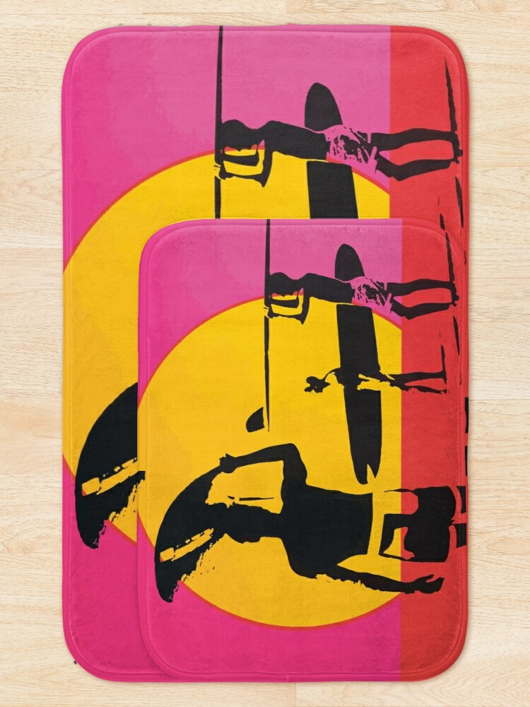 Alternate view of Endless Summer, 1966 Surf Sport Documentary Poster, Artwork, Prints, Posters, Tshirts, Men, Women, Kids Bath Mat