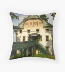 The Seaver Gym ~ Chautauqua, NY Throw Pillow